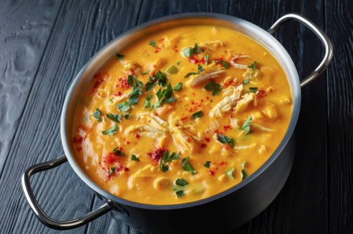 Butternut Squash Chicken Soup